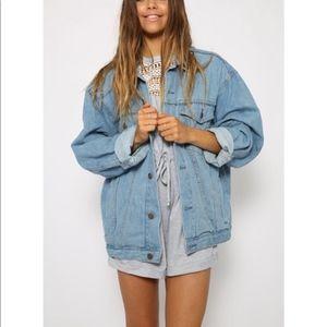 Gap Vintage men's Xl jean jacket
